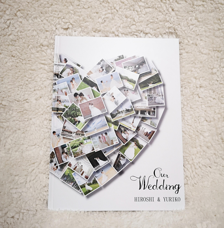 結婚式におすすめフォトブック画像